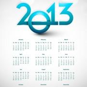 Link toElements of calendar 2013 design vector art 07
