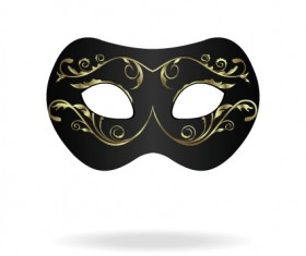 Various Carnival Mask elements vector set 01