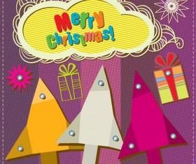 Cartoon Christmas and 2013 New Year Clipart vector 01