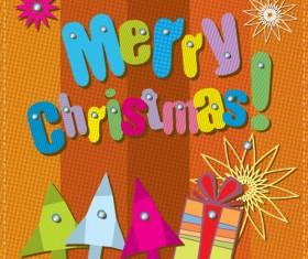 Cartoon Christmas and 2013 New Year Clipart vector 03