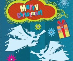 Cartoon Christmas and 2013 New Year Clipart vector 05