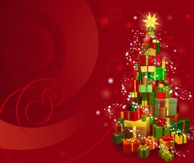Elements of Christmas Illustration collection vector 01