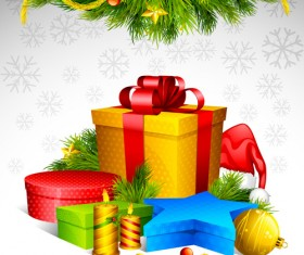 Elements of Christmas Illustration collection vector 04