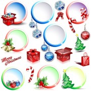 Link toElements of christmas illustration collection vector 05