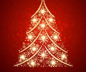 Vector set of Christmas cards backgrounds art 01