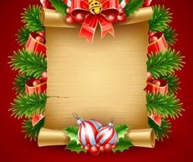 Vector set of Christmas cards backgrounds art 04