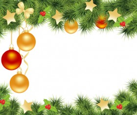 Vector set of Christmas cards backgrounds art 05
