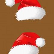 Link toDifferent christmas hat design elements vector set 05
