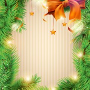 Link toChristmas decor background art vector material 01