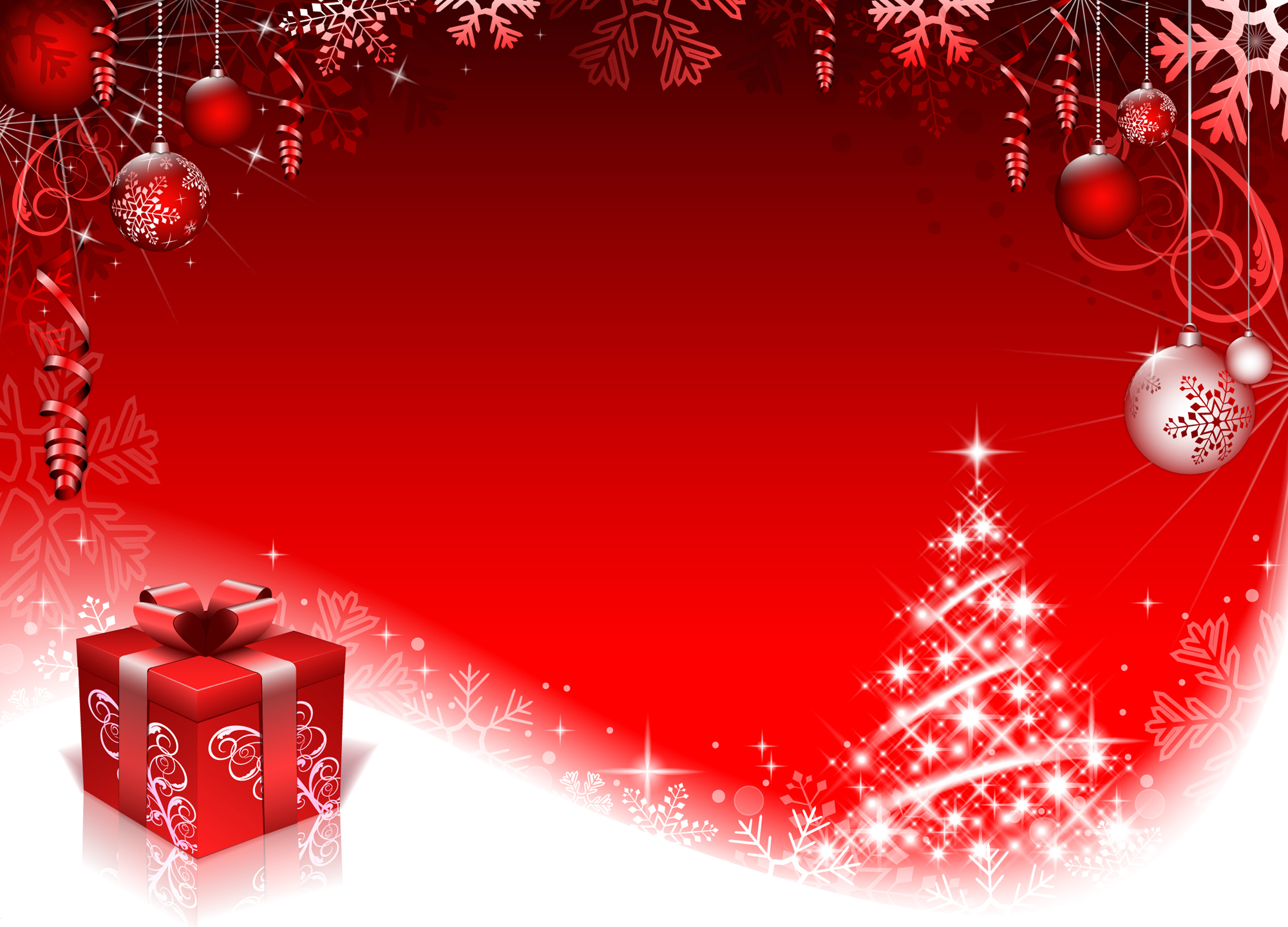 red style christmas background art vector 01 free download