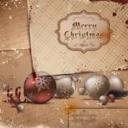 Link toSet of exquisite christmas background art vector 02
