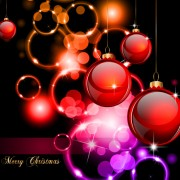 Link toSet of bright christmas card elements vector material 04