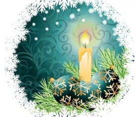 Set of dream Christmas card design vector 05
