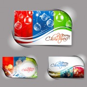 Link toElements of abstract christmas cards design vector 01