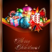 Link toDifferent christmas elements vector collection 03