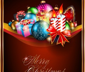 Different Christmas elements vector collection 03
