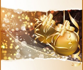 Exquisite Christmas elements collection vector 05