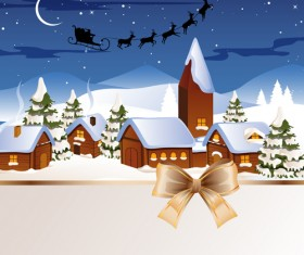 Exquisite Christmas elements collection vector 06