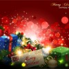 Different Christmas gifts box design elements vector 03