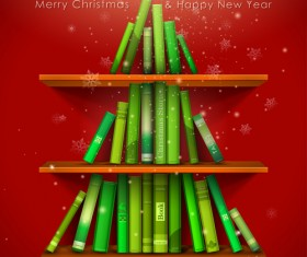 offbeat Christmas tree design elements vector 01