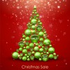 offbeat Christmas tree design elements vector 02