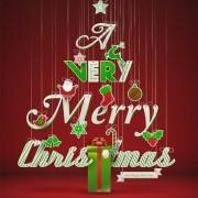 Link toOffbeat christmas tree design elements vector 04