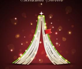 offbeat Christmas tree design elements vector 05