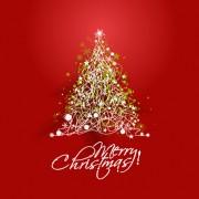 Link toSparkling christmas tree design vector 01