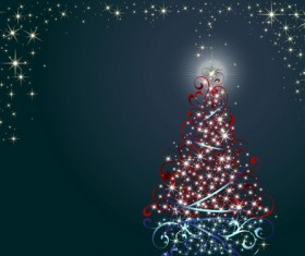 Special Christmas tree design elements vector 01