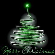 Link toSparkling christmas tree design vector 02