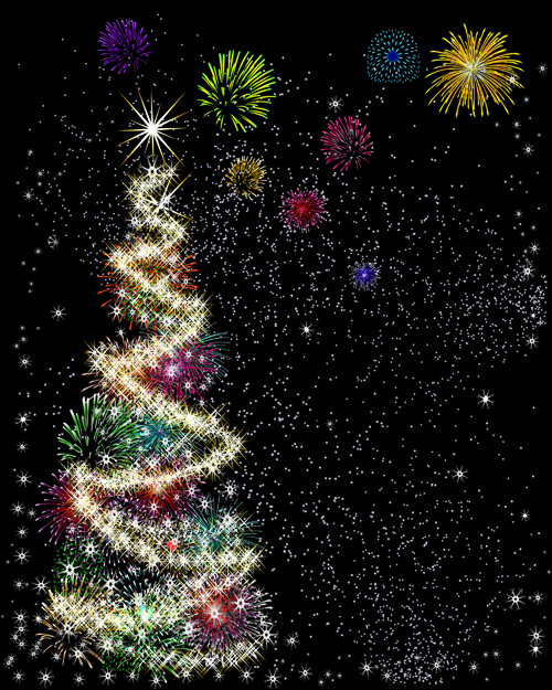 Special Christmas tree design elements vector 03
