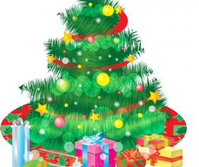 Special Christmas tree design elements vector 04