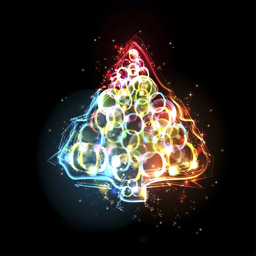 Special Christmas tree design elements vector 05