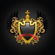 Link toLuxury coat of arms design elements vector graphics 02