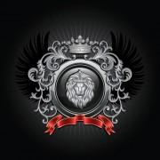 Link toLuxury coat of arms design elements vector graphics 04
