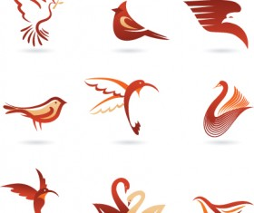 Commonly Logos design vector set 06