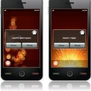 Different smartphones design elements vector 01