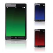 Different smartphones design elements vector 04