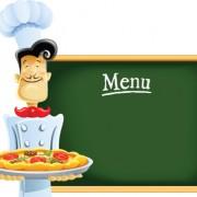 Link toFunny cook with waiter design vector set 05