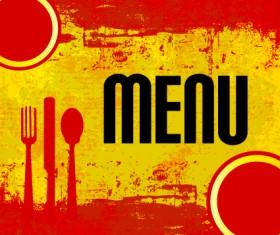 Europe style Cover menus design vector set 04