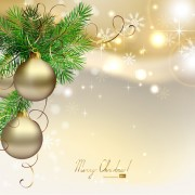 Link toDifferent christmas elements vector background graphics 03
