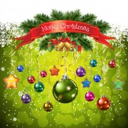 Link toDifferent christmas elements vector background graphics 05