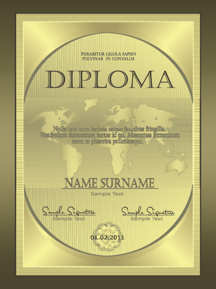 Retro diploma and certificate cover template design vector 01 retro diploma and certificate cover template design vector 01 yelopaper Image collections