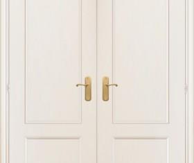 Elements of Door model backgrounds art vector 03