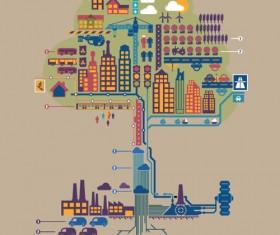 Set of Economy elements infographics design vector 04