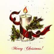 Link toElements of vintage christmas design vector graphics 05
