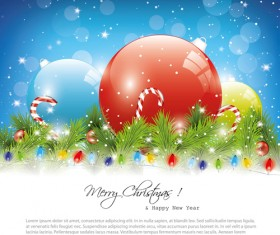 Exquisite Christmas elements collection vector 16