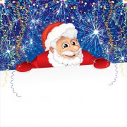 Link toElements of funny santa design vector graphics 03