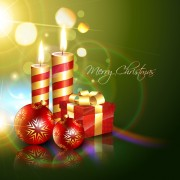 Link toSet of halation christmas background art vector graphic 02
