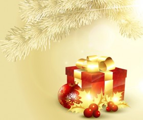 Set of Halation Christmas background art vector graphic 05